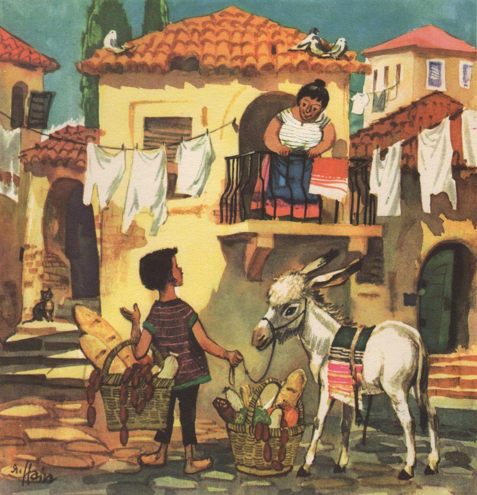 Peppe und der weiße Esel