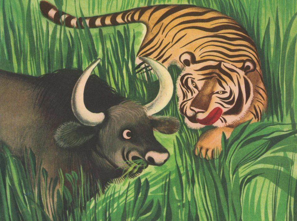 Der Tiger und der Affe