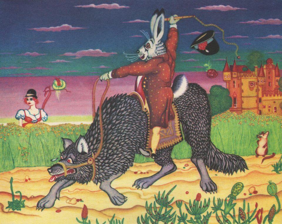 Der Wolf als Freier